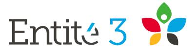 Entité 3 logo