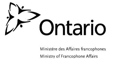 Ontario Ministry of Francophone Affairs logo